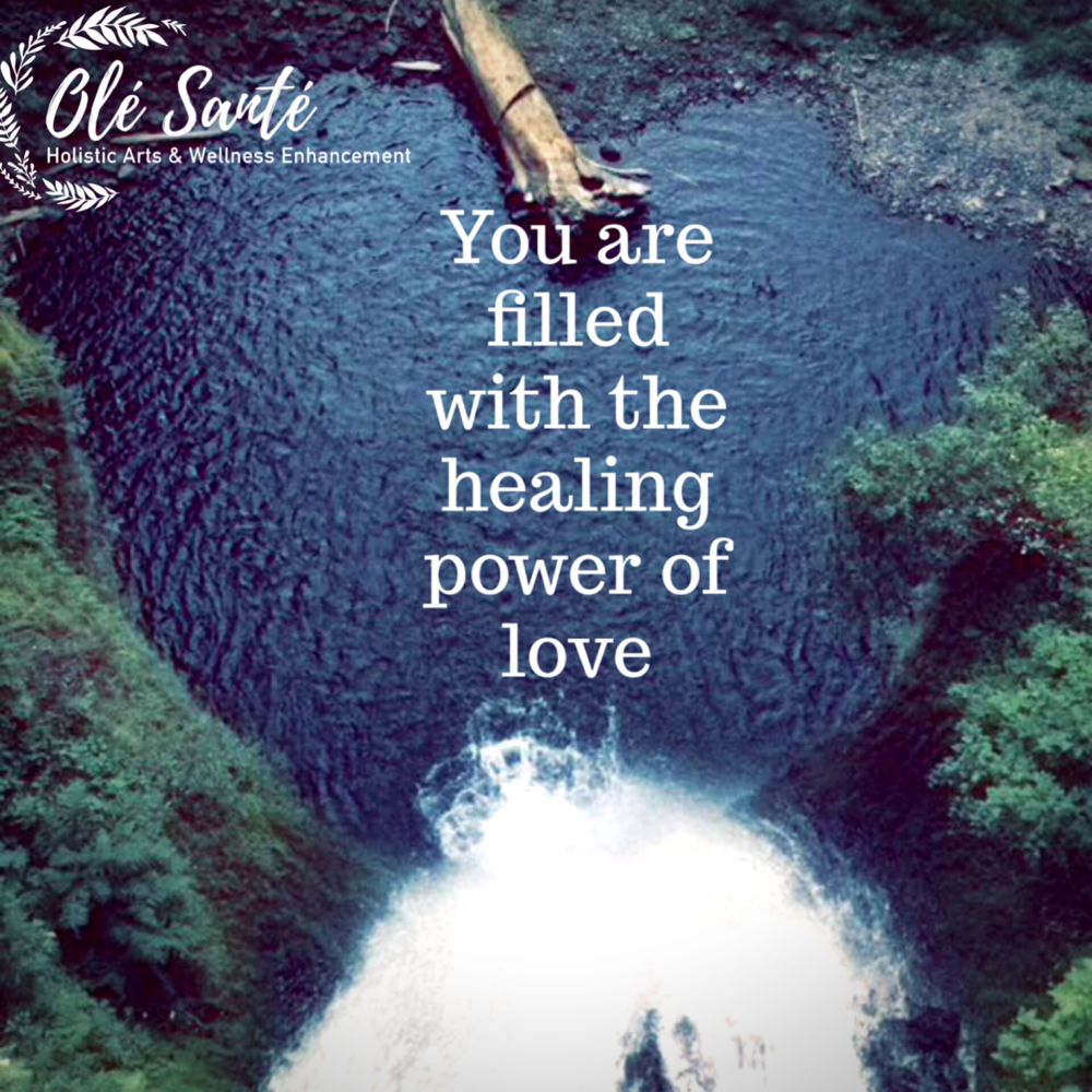 You ARE filled with the healing power of love